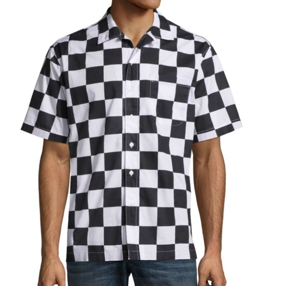 08e4c5e22 Black and White Checkered Shirt